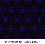 abstract repeat backdrop.... | Shutterstock .eps vector #609118574