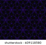 abstract repeat backdrop.... | Shutterstock .eps vector #609118580
