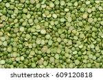 green split peas background   Shutterstock . vector #609120818