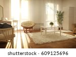 interior of beautiful modern... | Shutterstock . vector #609125696
