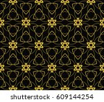 abstract repeat backdrop.... | Shutterstock .eps vector #609144254