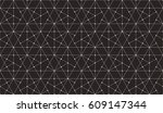 seamless linear pattern with... | Shutterstock .eps vector #609147344