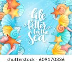 vector illustration of hand... | Shutterstock .eps vector #609170336