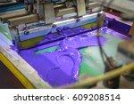 Purple Screen On Fabric Using...