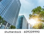 modern office building | Shutterstock . vector #609209990