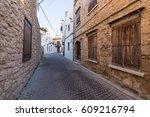 kyrenia  northern cyprus  ... | Shutterstock . vector #609216794