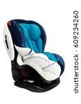 foam support inside blue child... | Shutterstock . vector #609234260
