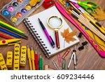 back to school | Shutterstock . vector #609234446