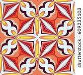 seamless texture  abstract... | Shutterstock .eps vector #609235103