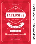 sale flyer or poster design... | Shutterstock .eps vector #609241820