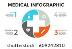 vector plus infographic ... | Shutterstock .eps vector #609242810