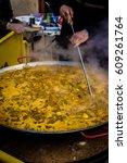 valencia   spain  january the... | Shutterstock . vector #609261764