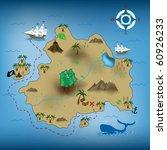 vector illustration of pirate... | Shutterstock .eps vector #60926233