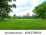 central park in new york | Shutterstock . vector #609278054