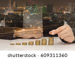 real estate investment property ... | Shutterstock . vector #609311360