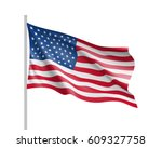 united state of america flag.... | Shutterstock .eps vector #609327758