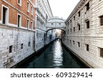 Bridge of Sighs (Ponte dei Sospiri) in Venice, Italy