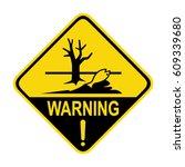 sign of poisonous   harmful...   Shutterstock .eps vector #609339680