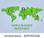 new ideas  search for investor  ... | Shutterstock .eps vector #609350168