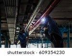 welder | Shutterstock . vector #609354230