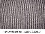 grey woolen or tweed fabric for ... | Shutterstock . vector #609363260