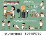 health concept infographics of... | Shutterstock .eps vector #609404780
