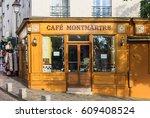paris  france   july 06  2016 ... | Shutterstock . vector #609408524