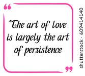 love quote. handwritten... | Shutterstock .eps vector #609414140