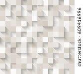 seamless pattern of white... | Shutterstock .eps vector #609416996