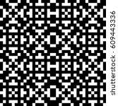 vector seamless pattern.... | Shutterstock .eps vector #609443336