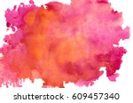 abstract watercolor background | Shutterstock . vector #609457340