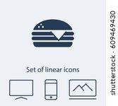 hamburger icon. one of set web...