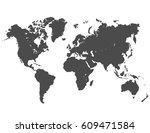 world map | Shutterstock .eps vector #609471584
