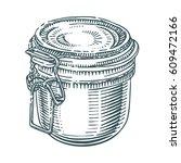 hand drawn vector illustration... | Shutterstock .eps vector #609472166