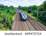 Train Ride On Train Railroad
