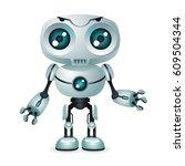 innovation technology fiction... | Shutterstock .eps vector #609504344