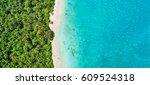 aerial photo of beautiful... | Shutterstock . vector #609524318