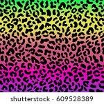 seamless multicolor gradient... | Shutterstock .eps vector #609528389