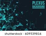 abstract vector illustration.... | Shutterstock .eps vector #609539816