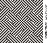 repeating geometric stripes... | Shutterstock .eps vector #609543059