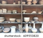 pottery land | Shutterstock . vector #609553820