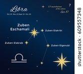 libra. high detailed vector... | Shutterstock .eps vector #609557348