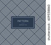 geometric seamless pattern.... | Shutterstock .eps vector #609558860