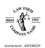 Law Firm Logo With Femida....
