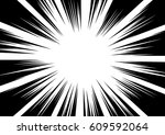 background of radial lines for... | Shutterstock .eps vector #609592064
