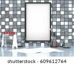 mock up with chemical vessels...   Shutterstock . vector #609612764