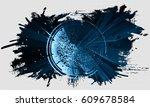 3d technology abstract...   Shutterstock . vector #609678584