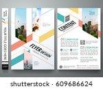 portfolio design template... | Shutterstock .eps vector #609686624