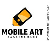mobile art logo