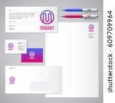 magnet logo. m letter....   Shutterstock .eps vector #609709964